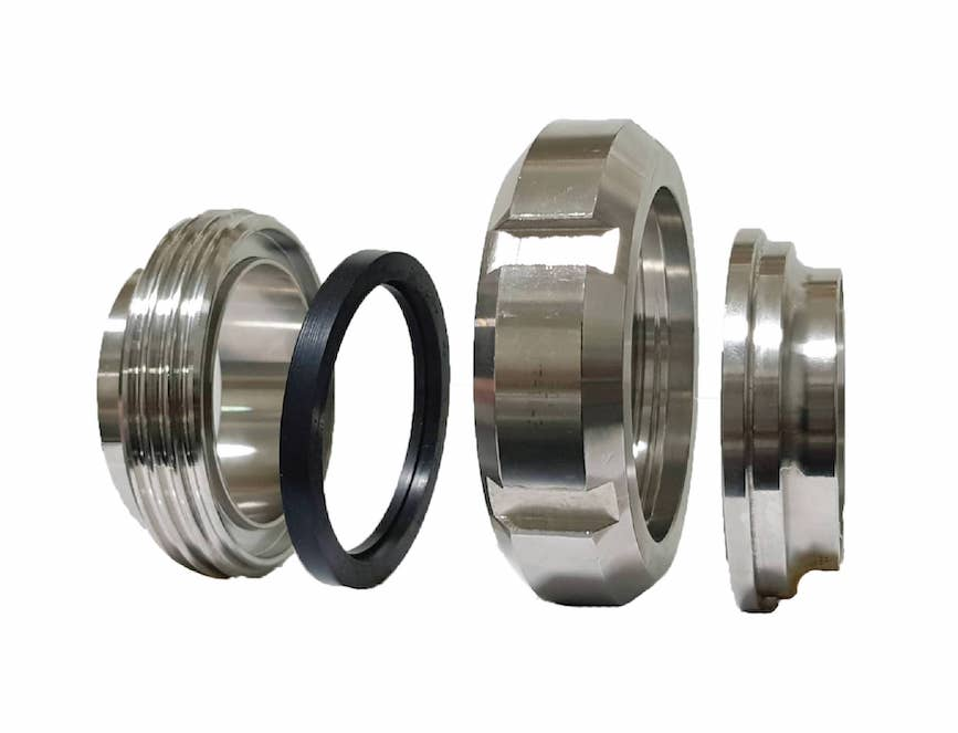 Stainless steel fittings and valve the sister group