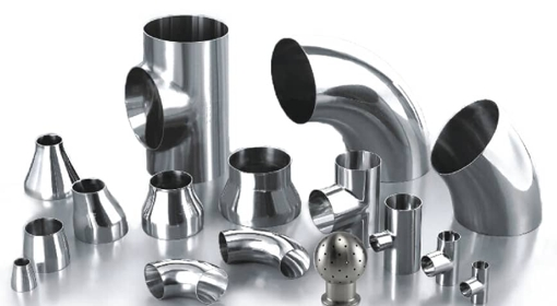 Stainless steel pipe fittings and valve the sister group